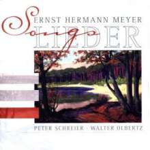 Ernst Hermann Meyer (1905-1988): Lieder, CD