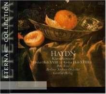 Joseph Haydn (1732-1809): Klavierkonzerte H18 Nr.4 & 11, CD