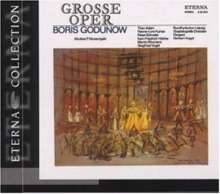 Modest Mussorgsky (1839-1881): Boris Godunow (Ausz.in dt.Sprache), CD