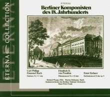 Ernst Eichner (1740-1777): Harfenkonzert D-dur op.9, CD