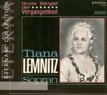 Tiana Lemnitz singt Arien, CD