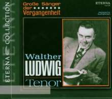 Walther Ludwig singt Arien, CD