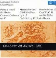 Ludwig van Beethoven (1770-1827): Chorfantasie op.80 (180g), LP