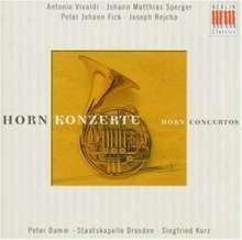 Peter Damm spielt Hornkonzerte, CD