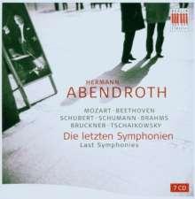 Hermann Abendroth - Last Symphonies, 7 CDs