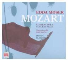 Wolfgang Amadeus Mozart (1756-1791): Konzertarien für Sopran, CD