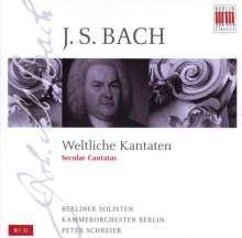 Johann Sebastian Bach (1685-1750): Die Weltlichen Kantaten, 8 CDs