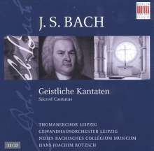 Johann Sebastian Bach (1685-1750): Hans-Joachim Rotzsch dirigiert Bach-Kantaten, 11 CDs