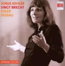 Sonja Kehler singt Brecht, CD