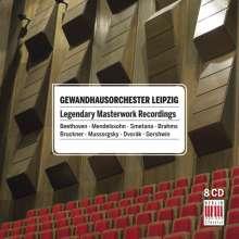 Gewandhausorchester - Legendary Masterworks Recordings, 8 CDs