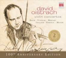 David Oistrach - Violinkonzerte (100th Anniversary Edition), 2 CDs
