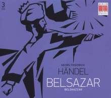 Georg Friedrich Händel (1685-1759): Belshazzar (in dt.Spr.), 3 CDs