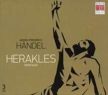 Georg Friedrich Händel (1685-1759): Herakles (in dt.Spr.), 3 CDs
