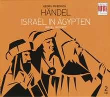 Georg Friedrich Händel (1685-1759): Israel in Ägypten (in deutscher Sprache), 2 CDs