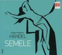 Georg Friedrich Händel (1685-1759): Semele (in deutscher Sprache), 3 CDs