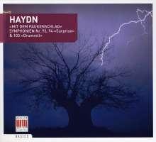 Joseph Haydn (1732-1809): Symphonien Nr.93,94,103, CD