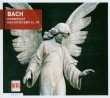 Johann Sebastian Bach (1685-1750): Kantaten BWV 51 & 59, CD