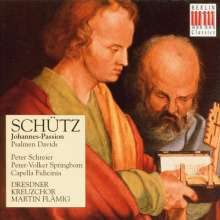 Heinrich Schütz (1585-1672): Johannes-Passion SWV 481, CD