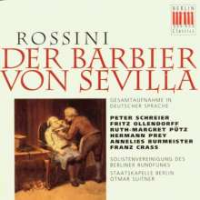 Gioacchino Rossini (1792-1868): Der Barbier von Sevilla (in dt.Spr.), 2 CDs