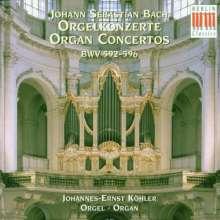 Johann Sebastian Bach (1685-1750): Konzerte f.Orgel BWV 592-596, CD
