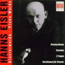 Hanns Eisler (1898-1962): Klavierwerke, 2 CDs