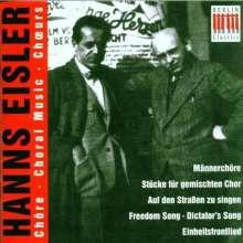 Hanns Eisler (1898-1962): Chorwerke, CD