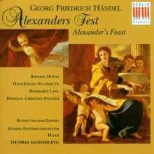 Georg Friedrich Händel (1685-1759): Alexander's Feast (in dt.Spr.), 2 CDs