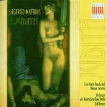 Siegfried Matthus (geb. 1934): Judith, 2 CDs