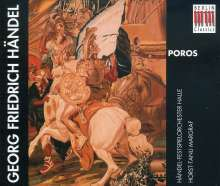 Georg Friedrich Händel (1685-1759): Poro (in dt.Spr.), 3 CDs