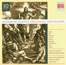 Heinrich Schütz (1585-1672): Geistliche Werke (Dresdner Kreuzchor), 10 CDs