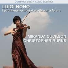 Luigi Nono (1924-1990): La Lontananza Nostalgica Utopica Futura, Blu-ray Audio