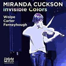 Miranda Cuckson - Invisible Colors, CD
