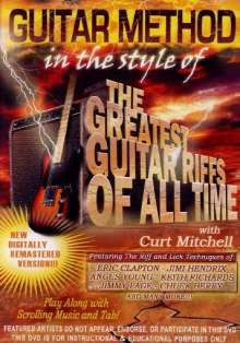 Guitar Method - In the Style of Greatest Guitar, DVD