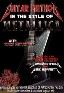 Guitar Method - In the Style of Metallica, DVD
