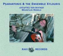 Psarantonis: Mountain Rebels, CD