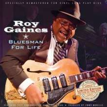 Roy Gaines: Bluesman For Life (remastered) (180g) (Limited Edition), LP