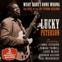 Lucky Peterson: What Have I Done Wrong, CD