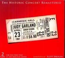Judy Garland: Historic Carnegie Hall Concert, 2 CDs