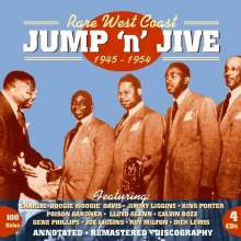 Rare West Coast: Jump'n'Jive, 4 CDs