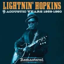 Sam Lightnin' Hopkins: The Acoustic Years 1959 - 1960, 4 CDs