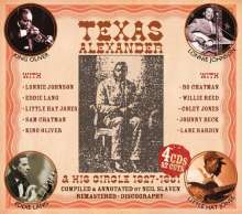 "Alger ""Texas"" Alexander: And His Circle 1927 - 1951, 4 CDs"