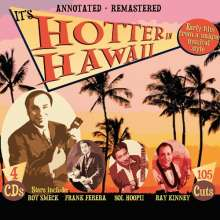 It's Hotter In Hawaii, 4 CDs