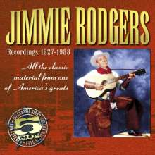 Jimmie Rodgers: Recordings 1927 - 1933, 5 CDs