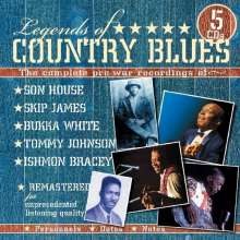 Legends Of Country Blues, 5 CDs