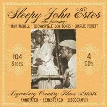 Sleepy John Estes: Legendary Country Blues, 4 CDs