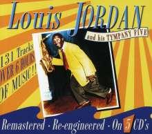 Louis Jordan (1908-1975): Louis Jordan And His Tympany Five, 5 CDs