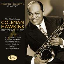 Coleman Hawkins (1904-1969): The Middle Years: Essential Cuts, 4 CDs