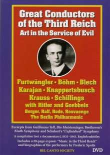 Great Conductors of the Third Reich (in engl.Spr.), DVD
