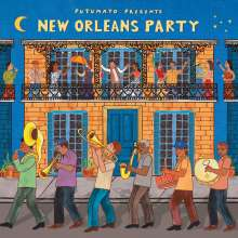 Putumayo Presents New Orleans Party, CD