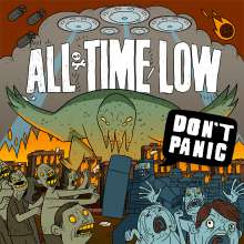 All Time Low: Don't Panic, CD